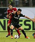 12.08.2018, Commerzbank - Arena, Frankfurt, GER, Supercup, Eintracht Frankfurt vs FC Bayern M&uuml;nchen , <br />DFL REGULATIONS PROHIBIT ANY USE OF PHOTOGRAPHS AS IMAGE SEQUENCES AND/OR QUASI-VIDEO.<br />im Bild<br />Makoto Hasebe (Frankfurt), Javi Mart&iacute;nez (M&uuml;nchen)<br /> <br /> Foto &copy; nordphoto / Bratic