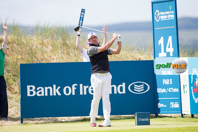 Scott Hend (AUS) on the 14th during the 3rd round at the Dubai Duty Free Irish Open hosted by the Rory Foundation, at Portstewart Golf Club, Portstewart, Co. Derry, Northern Ireland. 08/07/2017<br /> Picture: Golffile | Fran Caffrey<br /> <br /> <br /> All photo usage must carry mandatory copyright credit (&copy; Golffile | Fran Caffrey)