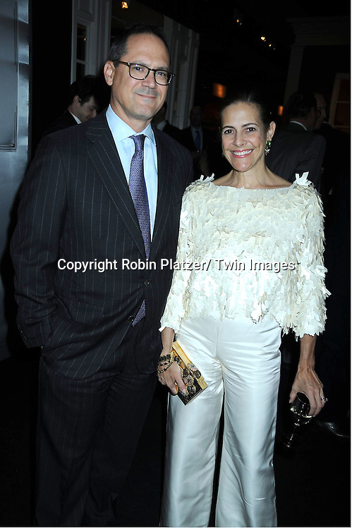 Jay Diamond and wife Alexandra Lebenthal attending The 2011 Winter Antiques Show Opening Night on January 20, 2011 at The Park Avenue Armory in New York City. .