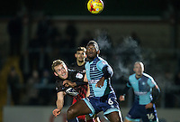 during the The Checkatrade Trophy Southern Group D match between Wycombe Wanderers and Coventry City at Adams Park, High Wycombe, England on 9 November 2016. Photo by Andy Rowland.