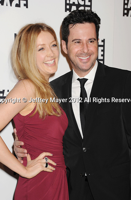 BEVERLY HILLS, CA - FEBRUARY 18: Jennifer Finnigan and Jonathan Silverman arrive at the 62nd Annual ACE Eddie Awards at the Beverly Hilton Hotel on February 18, 2012 in Beverly Hills, California.