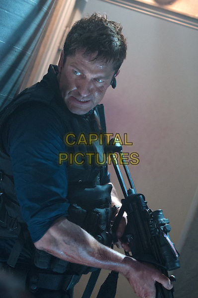GERARD BUTLER.in Olympus Has Fallen (2013) .*Filmstill - Editorial Use Only*.CAP/FB.Supplied by Capital Pictures.