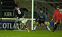 13/01/2007       Copyright Pic: James Stewart.File Name : sct_jspa05_falkirk_v_dunfermline.ALAN GOW SCORES FALKIRK'S LATER WINNER.....James Stewart Photo Agency 19 Carronlea Drive, Falkirk. FK2 8DN      Vat Reg No. 607 6932 25.Office     : +44 (0)1324 570906     .Mobile   : +44 (0)7721 416997.Fax         : +44 (0)1324 570906.E-mail  :  jim@jspa.co.uk.If you require further information then contact Jim Stewart on any of the numbers above.........