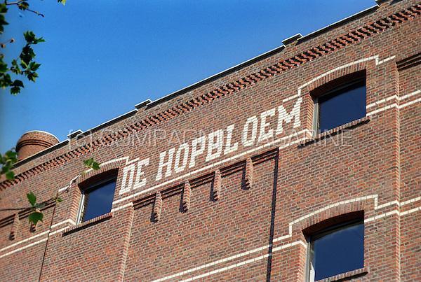 The former De Hopbloem malthouse in Leuven (Belgium, 07/2002)