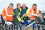Bike pride: Eamon Burke, Timmy O'Connor, Maurice McAulliffe and Dan Daly having a laugh during Sunday's Honda 50 Fun Run in Athea.
