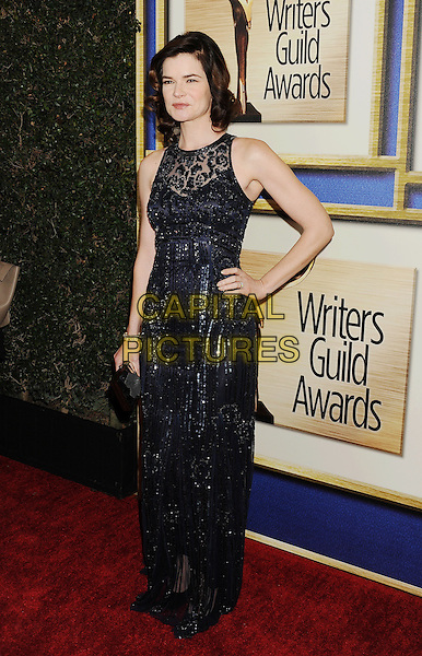 LOS ANGELES, CA- FEBRUARY 01: Writer Betsy Brandt arrives at the 2014 Writers Guild Awards L.A. Ceremony at JW Marriott Los Angeles at L.A. LIVE on February 1, 2014 in Los Angeles, California.<br /> CAP/ROT/TM<br /> &copy;Tony Michaels/Roth Stock/Capital Pictures
