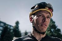Belgian champion Oliver Naesen (BEL/AG2R-LaMondiale) after the stage<br /> <br /> 104th Tour de France 2017<br /> Stage 14 - Blagnac › Rodez (181km)