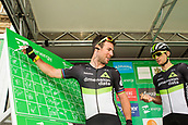 6th September 2017, Mansfield, England; OVO Energy Tour of Britain Cycling; Stage 4, Mansfield to Newark-On-Trent;  Mark Cavendish team-leader of the Dimension Data team during registration