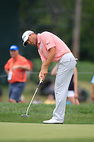 Ryan PALMER (USA) putts on the 1st green during Thursday's Round 1 of the 2014 PGA Championship held at the Valhalla Club, Louisville, Kentucky.: Picture Eoin Clarke, www.golffile.ie: 7th August 2014