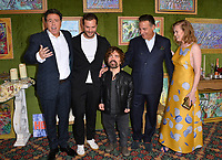 "LOS ANGELES, CA. October 04, 2018: Sacha Gervasi, Jamie Dornan, Peter Dinklage, Andy Garcia & Mireille Enos at the Los Angeles premiere for ""My Dinner With Herve"" at Paramount Studios.<br /> Picture: Paul Smith/Featureflash"