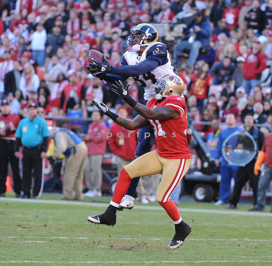 DANARIO ALEXANDER, of the St. Louis Rams, in action during the Rams game against the San Francisco 49ers on December 4, 2011 at Candlestick Park in San Francisco, CA. The 49ers beat the Rams 26-0.