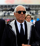 Giorgio Armani at the first day of Expo Milano 2015, in Milan on May 1, 2015.