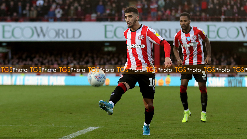 Said Benrahma of Brentford in action during Brentford vs Middlesbrough, Sky Bet EFL Championship Football at Griffin Park on 8th February 2020