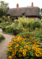 Anne Hathaway House, wife of William Shakespeare in Stratford Upon Avon, West Midlands, Great Britian, England