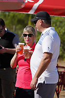 Cheers during Round 3 of the Portugal Masters, Dom Pedro Victoria Golf Course, Vilamoura, Vilamoura, Portugal, 26/10/2019<br /> Picture Andy Crook / Golffile.ie<br /> <br /> All photo usage must carry mandatory copyright credit (© Golffile   Andy Crook)