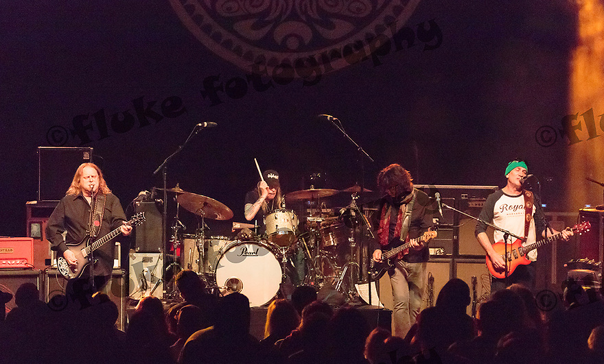Gov't Mule at Fort Tuthill County Park, Flagstaff, AZ on July 10, 2015. Warren Haynes on guitar, Matt Abts on drums, Danny Louis playing keyboards, and Jorgen Carlsson on bass guitar.