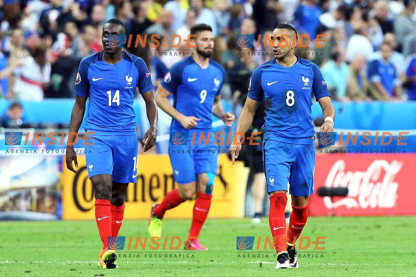 Dimitri Payet Francia <br /> Paris 10-06-2016 Stade de France football Euro2016 France - Romania  / Francia - Romania Group Stage Group A. Foto Matteo Ciambelli / Insidefoto