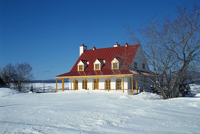 CANADA QuÈbec en hiver - Ile d'OrlÈans