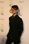 "Project Runway's winner Christian Siriano is the special guest at the 15th Annual QVC presents ""FFANY Shoes on Sale"" which benefits Breast Cancer Research on October 15, 2008 at the Waldorf Astoria, New York City, New York. (Photo by Sue Coflin/Max Photos)"