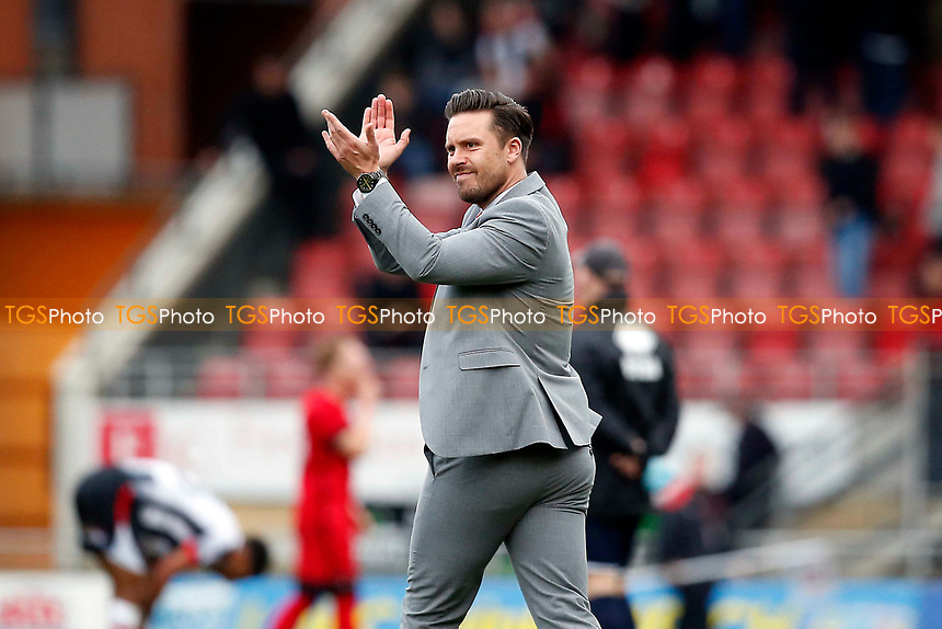 A frustrated O's boss Danny Webb during Leyton Orient vs Grimsby Town, Sky Bet EFL League 2 Football at the Matchroom Stadium on 11th March 2017