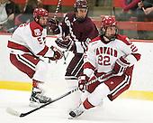 Dan Ford (Harvard - 5), Joe Wilson (Colgate - 25) - David Valek (Harvard - 22) - The Harvard University Crimson defeated the visiting Colgate University Raiders 4-2 on Saturday, November 12, 2011, at Bright Hockey Center in Cambridge, Massachusetts.