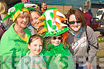 Sheila, Shauna, Marie Murphy, Noelle McGaley and Lorrraine Prenderville at the Castleisland Parade on Tuesday