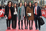 Spanish team of handball beach during 37 Sport Gala - National Sports Awards 2017. March 6,2017. (ALTERPHOTOS/Acero)