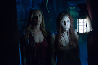 Insidious: The Last Key (2018) <br /> CAITLIN GERARD and ALEQUE REID <br /> *Filmstill - Editorial Use Only*<br /> CAP/MFS<br /> Image supplied by Capital Pictures