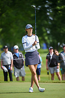 Michelle Wie (USA) watches her tee shot on 12 during the round 1 of the KPMG Women's PGA Championship, Hazeltine National, Chaska, Minnesota, USA. 6/20/2019.<br /> Picture: Golffile | Ken Murray<br /> <br /> <br /> All photo usage must carry mandatory copyright credit (© Golffile | Ken Murray)
