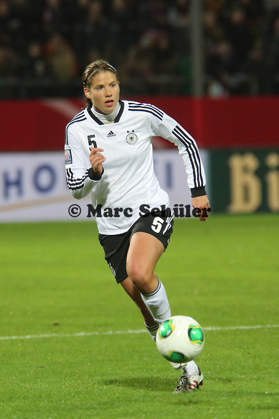 Annike Krahn (D) - Deutschland vs. Kroatien, WM-Qualifikation, Frankfurter Volksbank Stadion
