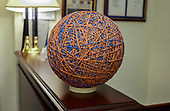 Rubberband ball in the lobby of the Capitol Hill office of United States Representative Peter T. King (Republican of New York) in Washington, DC on Thursday, November 14, 2019.<br /> Credit: Ron Sachs / CNP<br /> (RESTRICTION: NO New York or New Jersey Newspapers or newspapers within a 75 mile radius of New York City)