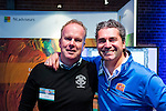 UTRECHT - Nationaal Golf Congres en Beurs 2017. NVG  motto: Like to Play & Love to stay. John Boerdonk en Alexander Renders (r).  FOTO © Koen Suyk