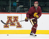 Max Tardy (Duluth - 19) - The University of Minnesota-Duluth Bulldogs practiced on Friday morning, April 8, 2011, during the 2011 Frozen Four at the Xcel Energy Center in St. Paul, Minnesota.