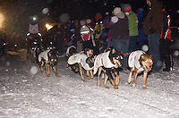 2012 UP200 Dog Sled Race - The start of this 240-mile dog sled that takes place in Michigan's Upper Peninsula.