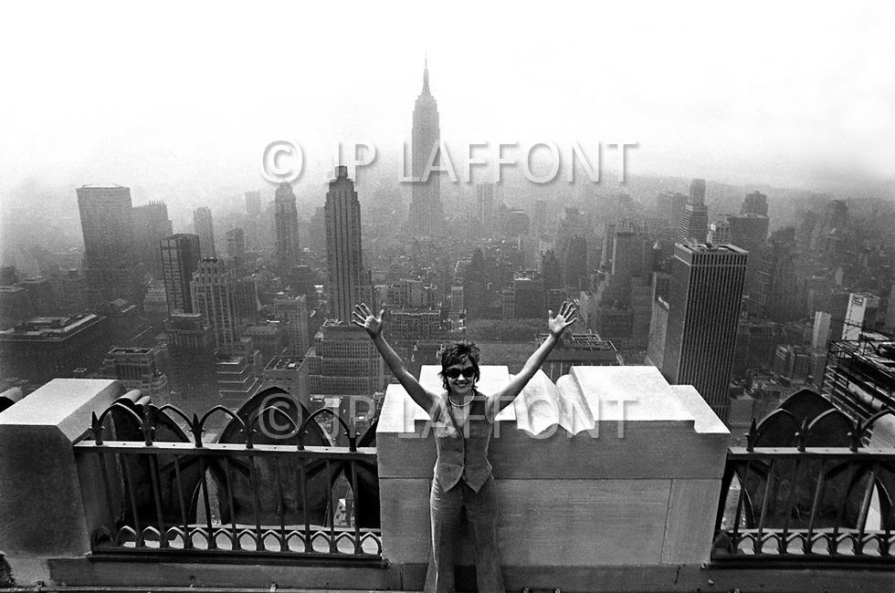 Manhattan, New York City, USA. May 1970. French-Algerian actress Marlene Jobert in Manhattan.