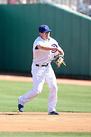 Jeff Baker. Chicago Cubs spring training game vs. Arizona Diamondbacks at Hohokam Stadium, Mesa, AZ - 03/05/2010.Photo by:  Bill Mitchell/Four Seam Images.