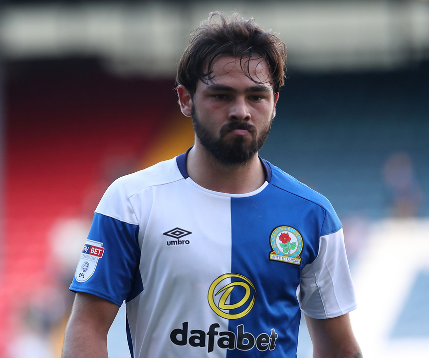 Blackburn Rovers' Bradley Dack looks dejected at the end of todays match<br /> <br /> Photographer Rachel Holborn/CameraSport<br /> <br /> The EFL Sky Bet League One - Blackburn Rovers v Doncaster Rovers - Saturday August 12th 2017 - Ewood Park - Blackburn<br /> <br /> World Copyright &copy; 2017 CameraSport. All rights reserved. 43 Linden Ave. Countesthorpe. Leicester. England. LE8 5PG - Tel: +44 (0) 116 277 4147 - admin@camerasport.com - www.camerasport.com