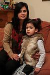 Adriama Romero Tubridy and Lucia Tubridy Ramero<br /> Picture: Fran Caffrey www.newsfile.ie