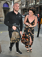 Liam Macaulay and Candice Brown at the &quot;Game of Thrones&quot; season one special screening to mark its release in 4K Ultra HD, Picturehouse Central, Corner of Shaftesbury Avenue and Great Windmill Street, London, England, UK, on Wednesday 06 June 2018.<br /> CAP/CAN<br /> &copy;CAN/Capital Pictures