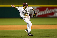 Kevin Medrano (13) of the Missouri State Bears during a game vs. the Western Illinois Leathernecks at Hammons Field in Springfield, Missouri;  March 18, 2011.  Photo By David Welker/Four Seam Images
