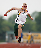 Josh Camp of Baylor Univ. placed 2nd. in the Triple Jump with a mark of 44' 5 1/2 # the Michael Johnson Classic @ Baylor Univ., Waco, Texas on Saturday, April 21, 2007. Photo by Errol Anderson, The Sporting Image.
