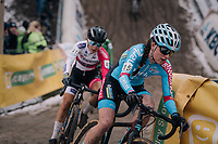 2018/2019 CX sensation Denise Betsema (NED/Marlux-Bingoal) in the infamous &quot;Pit&quot; <br /> <br /> women's race<br /> Superprestige Zonhoven (BEL) 2018