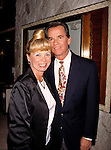 Dick Clark with his wife .Attending the N.A.T.P.E. Television Convention.in Las Vegas..January 25, 1996.