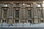 Il palazzo dell'Accademia delle Scienze a Torino. The Academy of Sciences in Torino.