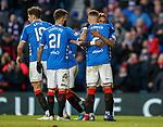 02.02.2019: Rangers v St Mirren: James Tavernier and Jermain Defoe