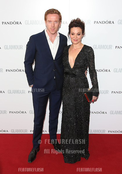 Damian Lewis, Helen McCrory arriving for the 013 Glamour Women of The Year Awards, Berkeley Square, London. Picture by: Henry Harris / Featureflash