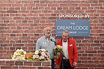 "Michael Pattemore received the new roses named the ""Lynda Bellingham Rose"" At the RHS Hampton Court Flower show, London 29.6.15"