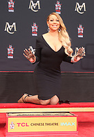 HOLLYWOOD, CA - NOVEMBER 1: Mariah Carey Hand and Foot Print Ceremony at The TCL Chinese Theatre in Hollywood, California on November 1, 2017. Credit: Faye Sadou/MediaPunch /NortePhoto.com