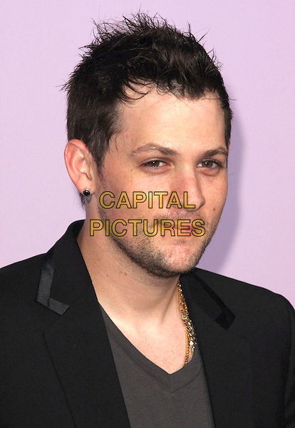 JOEL MADDEN .18th Annual Environmental Media Awards held at the Ebell Theatre,  Los Angeles, California, USA, .13 November 2008..portrait headshot beard stubble black earring necklace .CAP/ADM/CH.©Charles Harris/AdMedia