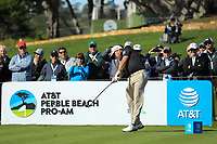 Graeme McDowell (NIR) during the first round of the AT&amp;T Pro-Am, Pebble Beach Golf Links, Monterey, California, USA. 07/02/2019<br /> Picture: Golffile | Phil Inglis<br /> <br /> <br /> All photo usage must carry mandatory copyright credit (&copy; Golffile | Phil Inglis)